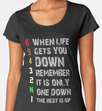 1N23456 Women's Premium T-Shirt
