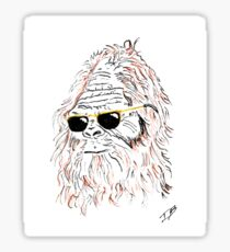 Sasquatch with Shades Sticker