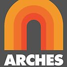 Arches National Park Retro Designs by yelly123