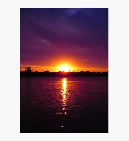 Fall Sunset  Photographic Print