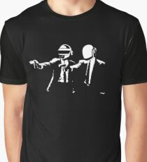 daft punk logo artwork Graphic T-Shirt