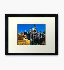 Blue skies and sunshine guarenteed Framed Print