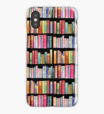 Bookworms Delight / Antique Book Library for Bibliophile iPhone Case/Skin