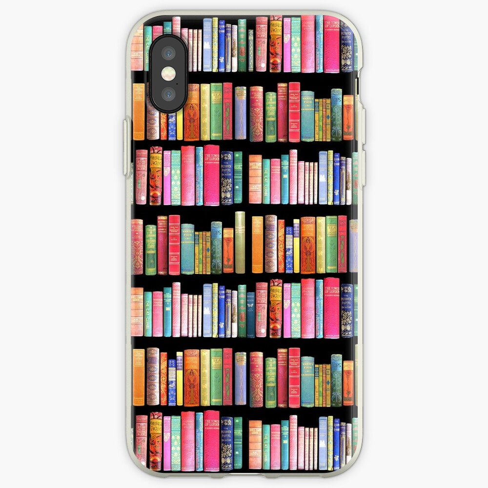 Bookworms Delight / Antique Book Library for Bibliophile iPhone Case & Cover