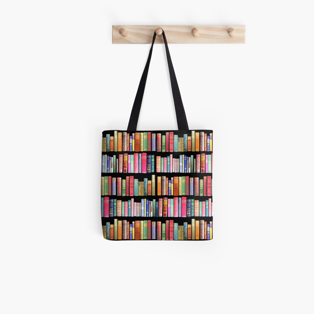 Bookworms Delight / Antique Book Library for Bibliophile Tote Bag