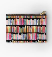 Bookworms Delight / Antique Book Library for Bibliophile Studio Pouch