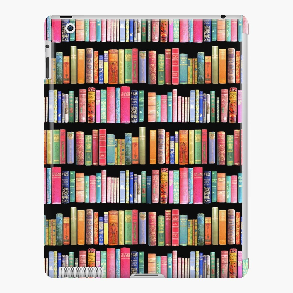 Bookworms Delight / Antique Book Library for Bibliophile iPad Case & Skin