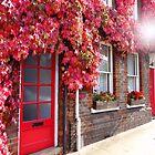 Autumn in an English town by Charmiene Maxwell-Batten