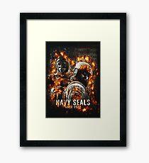 Navy Seals Framed Print