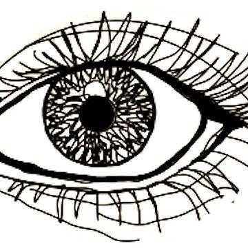 contorno del ojo más grande de carlac