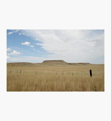 Battle Butte Photographic Print