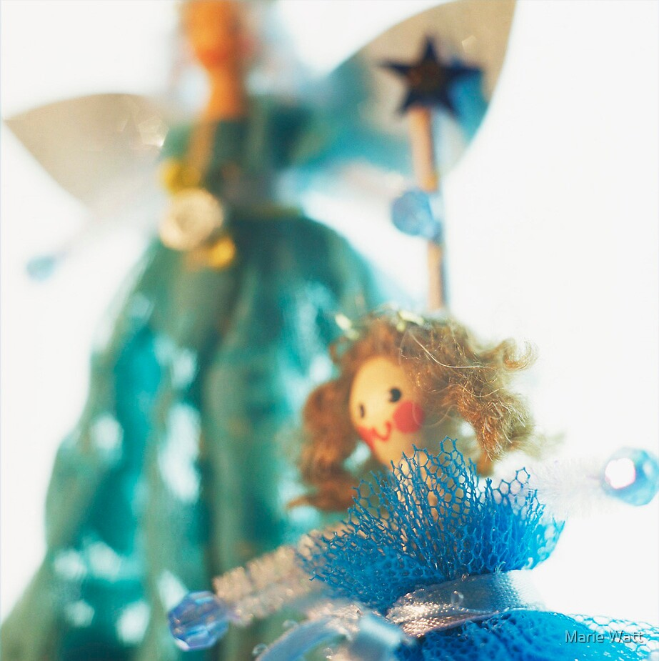 Peg Doll D by Marie Watt