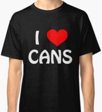 I Love Cans Classic T-Shirt