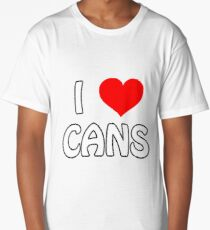 I Love Cans Long T-Shirt