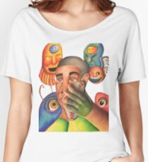 Controlled Chaos  Women's Relaxed Fit T-Shirt