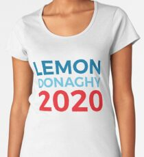 Liz Lemon Jack Donaghy / 30 Rock / 2020 Election / Lemon Donaghy Women's Premium T-Shirt
