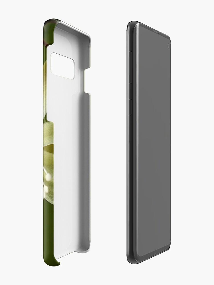 Alternate view of White Cactus flower Case & Skin for Samsung Galaxy