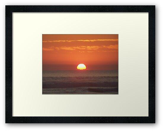 """Orange Skies by Lenora """"Slinky"""" Ruybalid"""