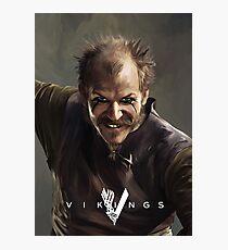 Floki Vikings Photographic Print