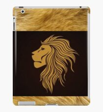 Zodiac Lion House Lannister Game of Thrones iPad Case/Skin
