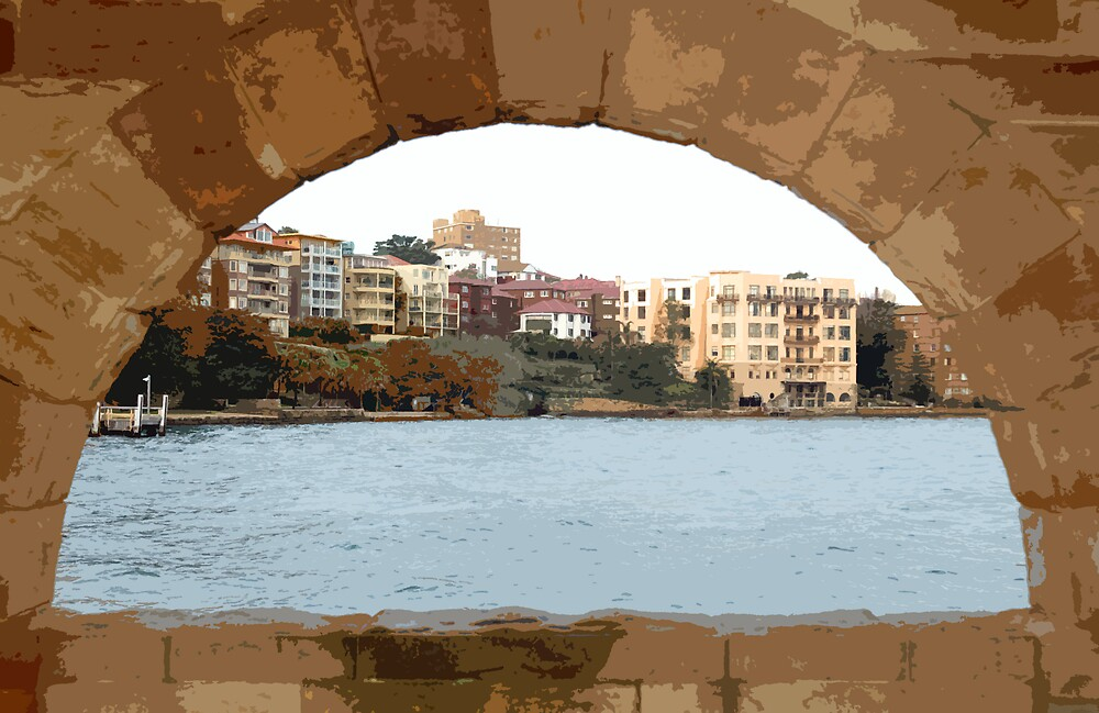 Arch View by Pumpkinpizza