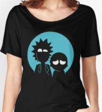 Rick and Morty in Blue Women's Relaxed Fit T-Shirt