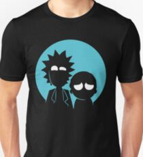 Rick and Morty in Blue T-Shirt