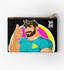 ADAM LIKES TO BEAR UP - 80S VIBE Studio Pouch