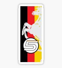 Sebastian Vettel 5 Stripe Sticker