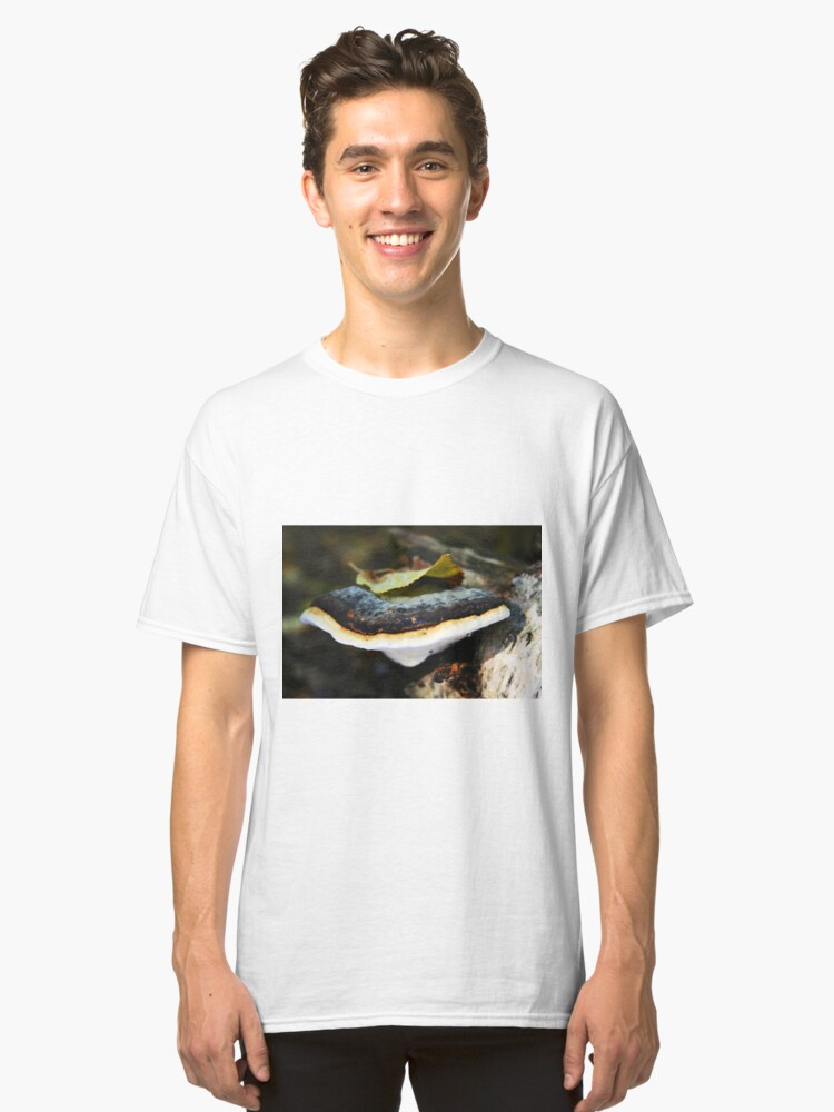 Alternate view of Polypore with a leafy hat Classic T-Shirt