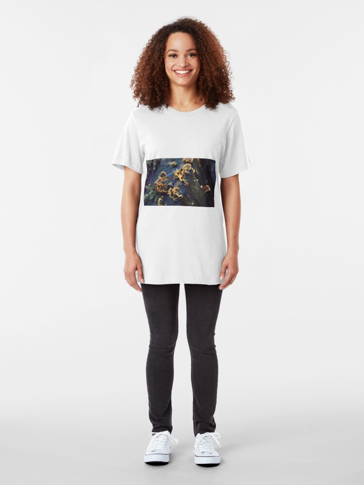 Alternate view of Old tree trunk Slim Fit T-Shirt