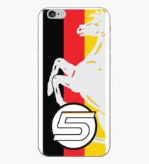 Sebastian Vettel 5 Stripe iPhone Case