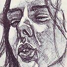 Ecstatic Trance Sketch by DreddArt