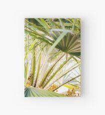 Cuaderno de tapa dura Summer Vibe Palm trees from LA to Espanyol