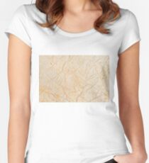 belgie marble 3 Women's Fitted Scoop T-Shirt