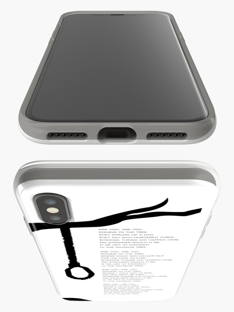 Alternate view of the hanging tree iPhone Cases & Covers