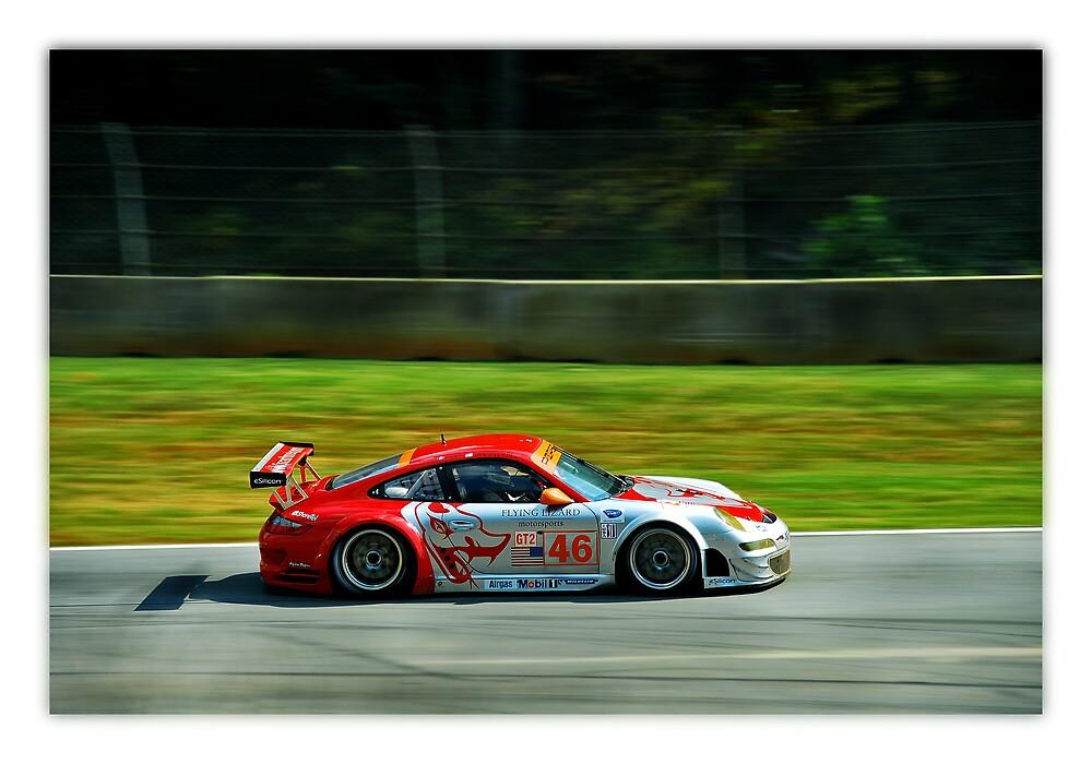 Porsche at LeMans by Sam Cassidy