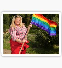 Gemma Collins, Gay Ally Sticker