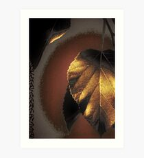 Goldleaf Art Print