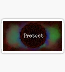 Protect Your Energy (Inverse) Sticker