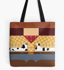 Woody Minimalist Tote Bag