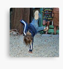 breakdancer 2 Canvas Print