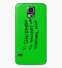 Finding Nemo- P. Sherman Wallaby Way Case/Skin for Samsung Galaxy