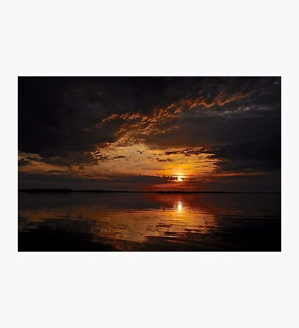 A Mysterious sunset Photographic Print