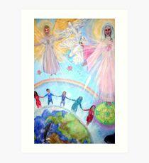 Unity in Diversity Art Print
