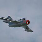 MiG29 in flight  by miradorpictures