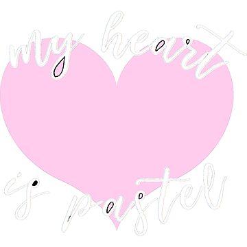 My Heart is Pastel by LightfulFoxtrot