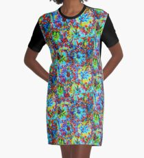 Exhale Graphic T-Shirt Dress