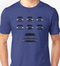 Hot-Hatch-Generationen Unisex T-Shirt