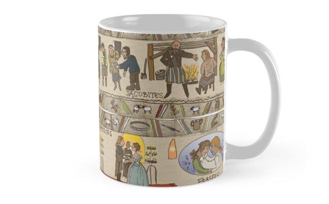 Second set of panels of Gabeaux Tapestry Mug